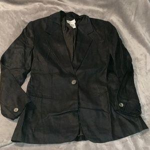 Talbot's Irish Linen blazer 6